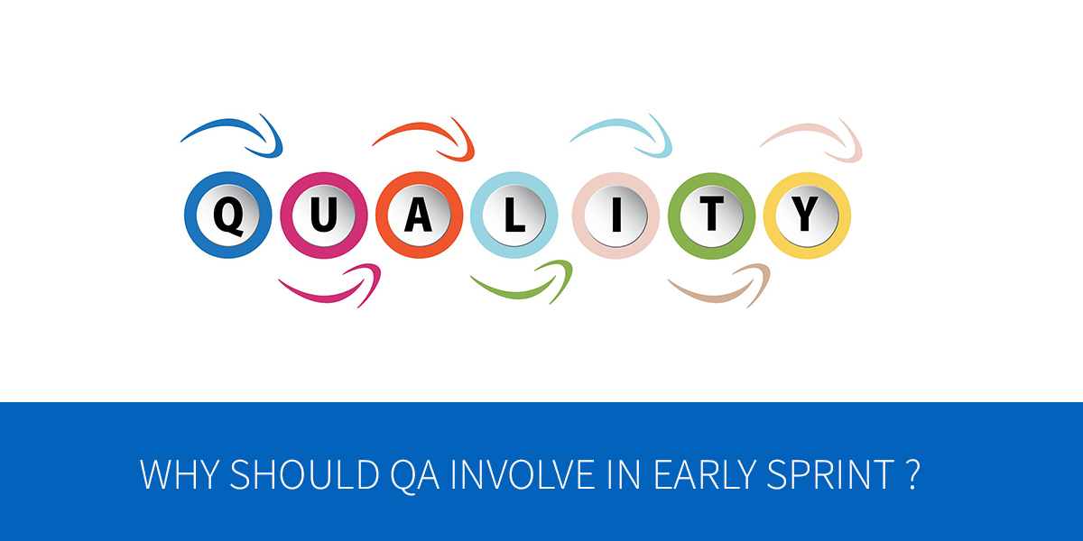 Why should QA involve in early sprint phase